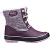 Keen Youth Elsa WP Boots Plum/Pastel Lilac